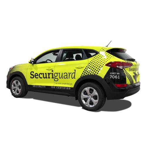 Securiguard Security Vehicle Wrap Vancouver