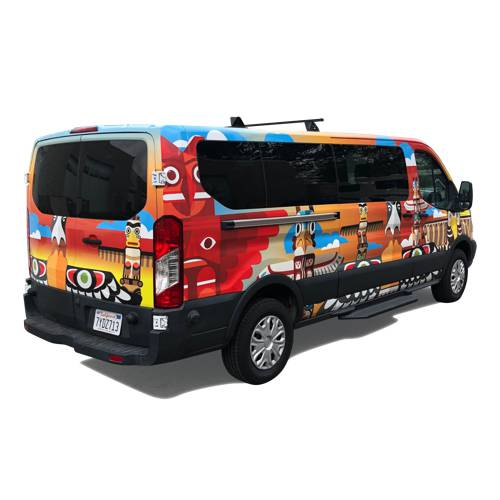 First Nations Van Wrap Vancouver
