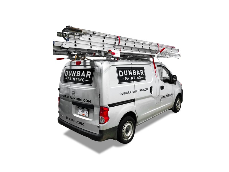 Dunbar Painting Utility Van Wrap Vancouver