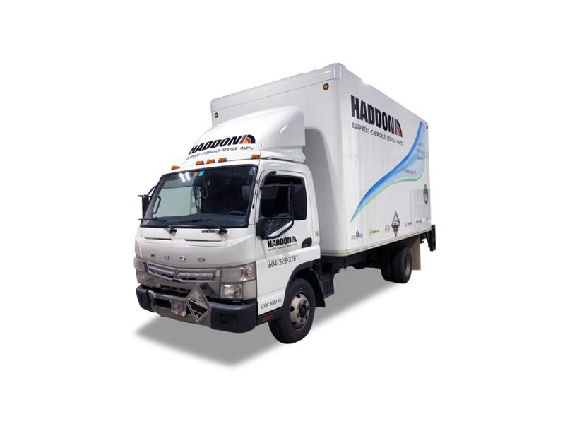 Haddon Fuso One-Ton Truck Wrap Vancouver