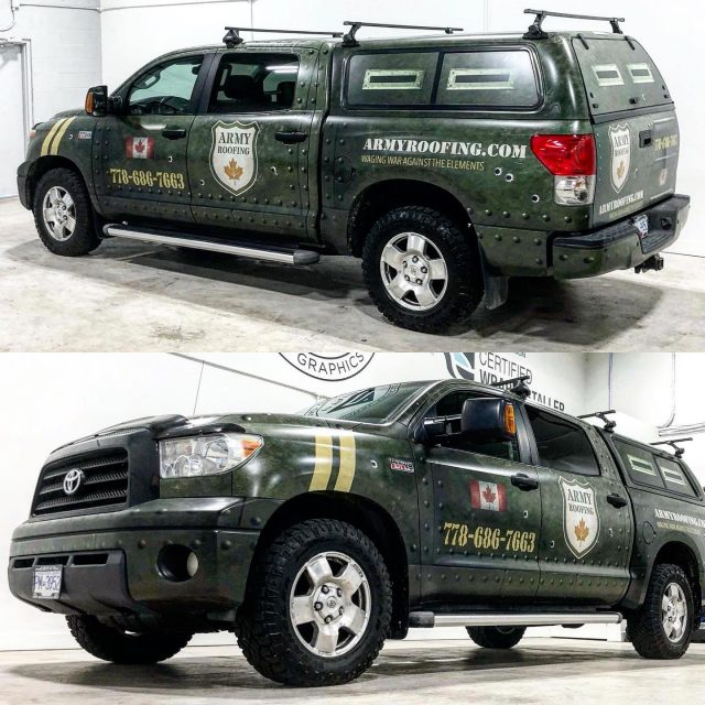 Some more shots of the Tank Wrap for our friends over with @armyroofing! We hope everyone is having a fantastic weekend. 😊 *************************************************** #carwrapping #carwrap #wrapping #carwraps #vinylwrap #wrap #wrapped #vinylwrapping #wrappedcars #design #vinylwraps #cars #vehiclewrap #vinyl #layednotsprayed #wraptools #wraplife #carwrappers #wrapshop #wrappedworld #wrapstyle #comercialwraps #tank #fullwrap #3m #3mwrap