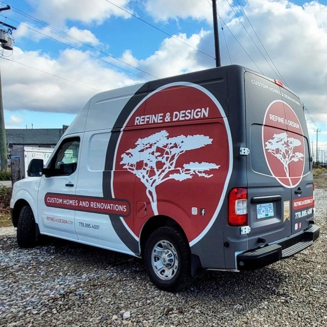 This was our first time working with the legends over with @refine_and_design! They went with a matte laminated partial wrap for their NV2500. What does everyone think about their design? 😍  ****************************************************  #partialwrap #vehiclegraphics #wrapshop #matte #mattegraphics #mattewrap #nissan #nv2500 #brand #advertising #mobilebillboard #wemeanbusiness #wrap #wraps