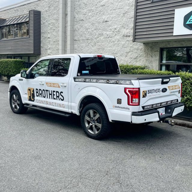 Logo creation and print/cut decals for the team with @jcbrotherscontracting! Thank you for your business 🙌  ****************************************************  #vinylwrapping #wrappedcars #design #vinylwraps #cars #vehiclewrap #vinyl #layednotsprayed #wraptools #wraplife #carwrappers #wrapshop #wrappedworld #wrapstyle #comercialwraps