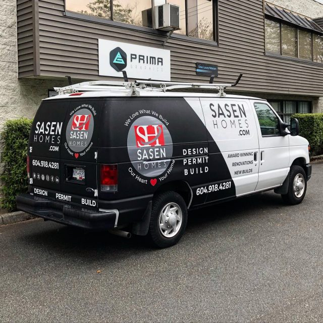 It was an pleasure to work with the team from @sasenhomes again! We installed a partial wrap using a matte black vinyl and then added layers of reflective and opaque cut vinyl on top. Thank you for your business 🙏  Design credit: Kenton Media Productions  ******************************************************  #design #vinylwraps #cars #vehiclewrap #vinyl #layednotsprayed #wraptools #wraplife #carwrappers #wrapshop #wrappedworld #wrapstyle #comercialwraps