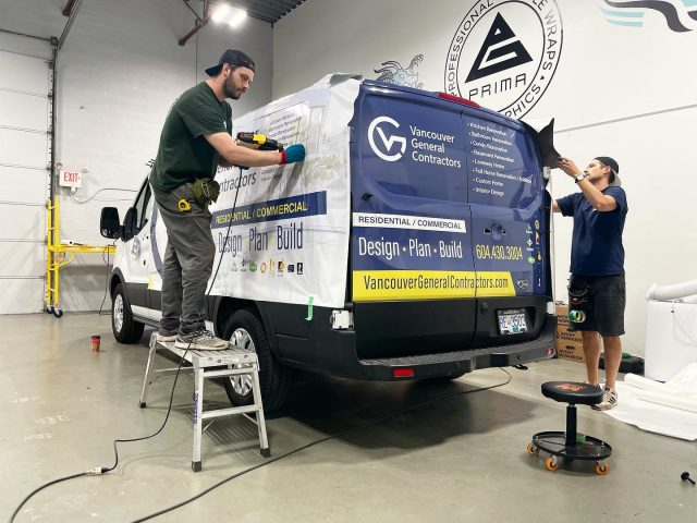 Custom vehicle graphics for the Lower Mainland! Call our advertising experts today.
